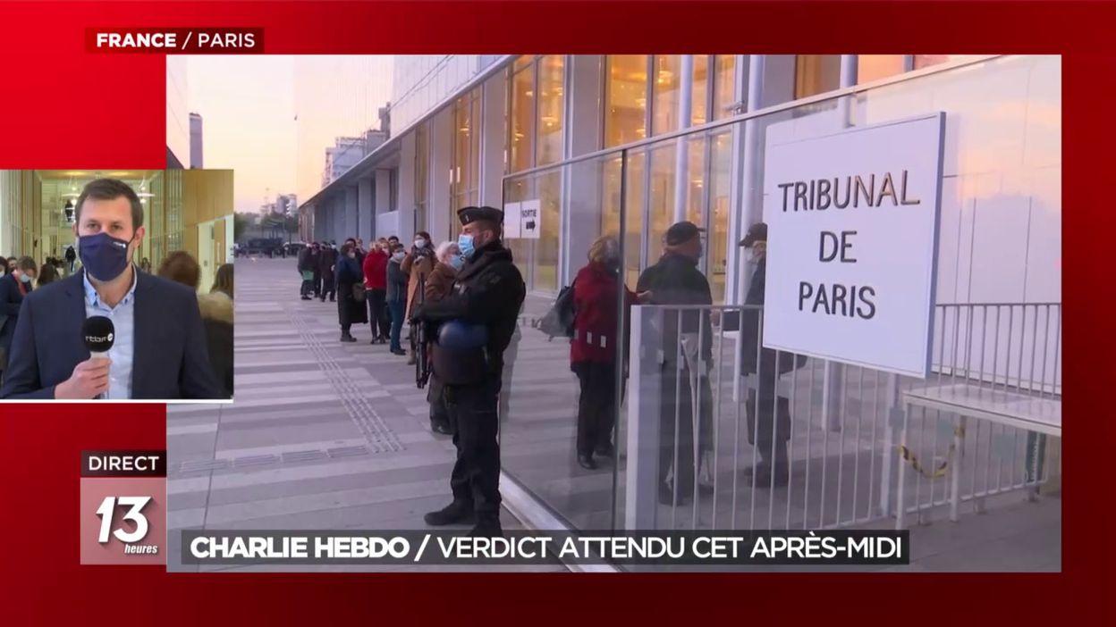 Charlie Hebdo : verdict du procès attendu ce mercredi après-midi
