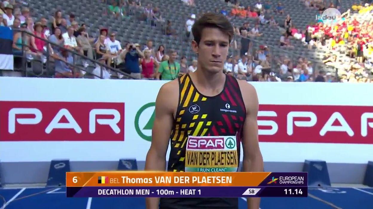Thomas Van der Plaetsen entame en douceur son décathlon