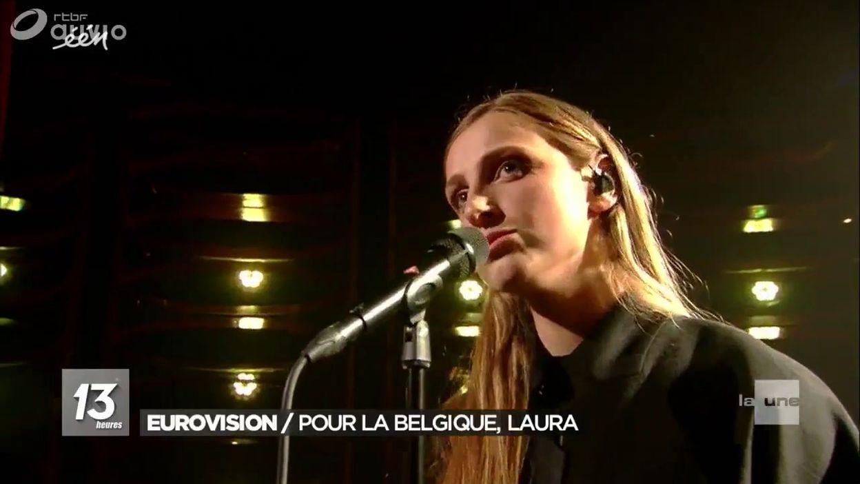 Eurovision Laura Representera La Belgique