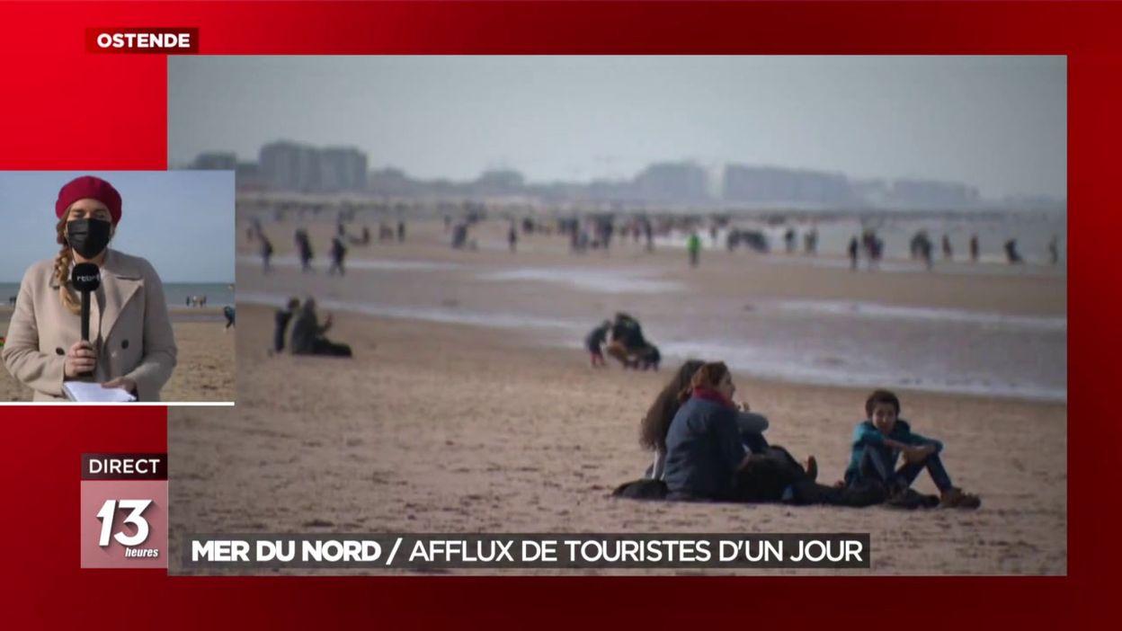 Mer du Nord : Afflux de touristes d un jour