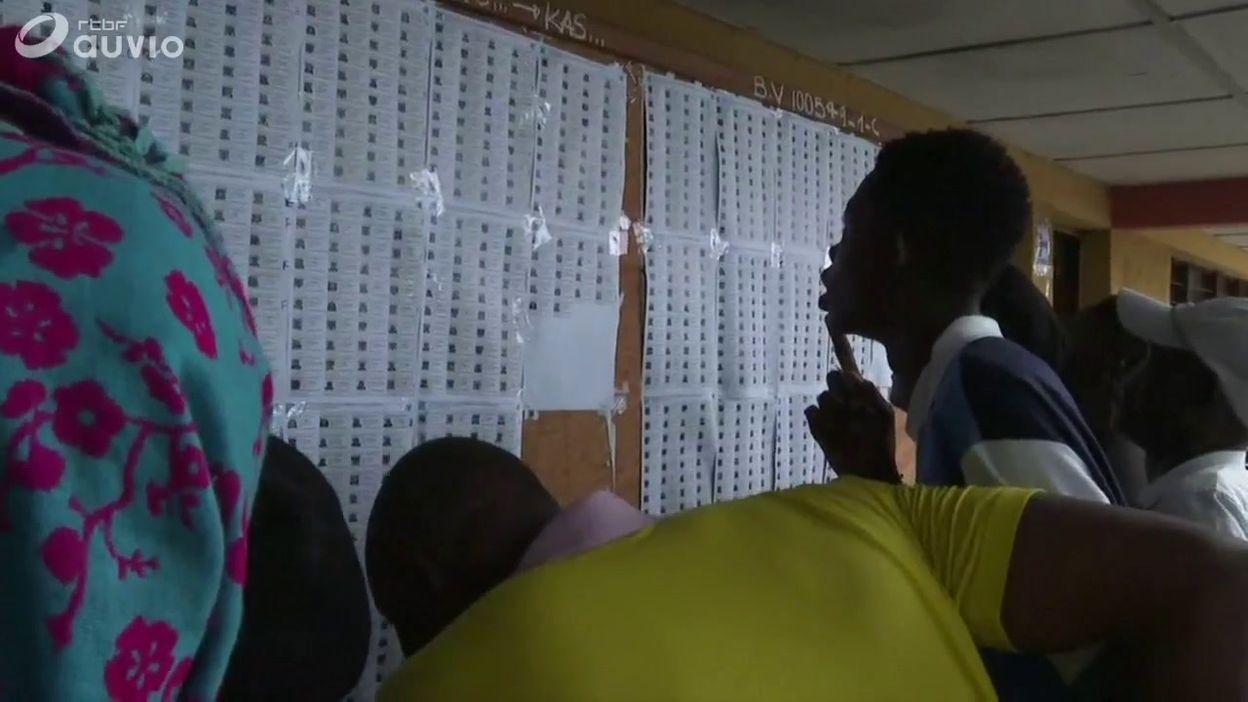 Rdc ouverture des bureaux de vote à kinshasa