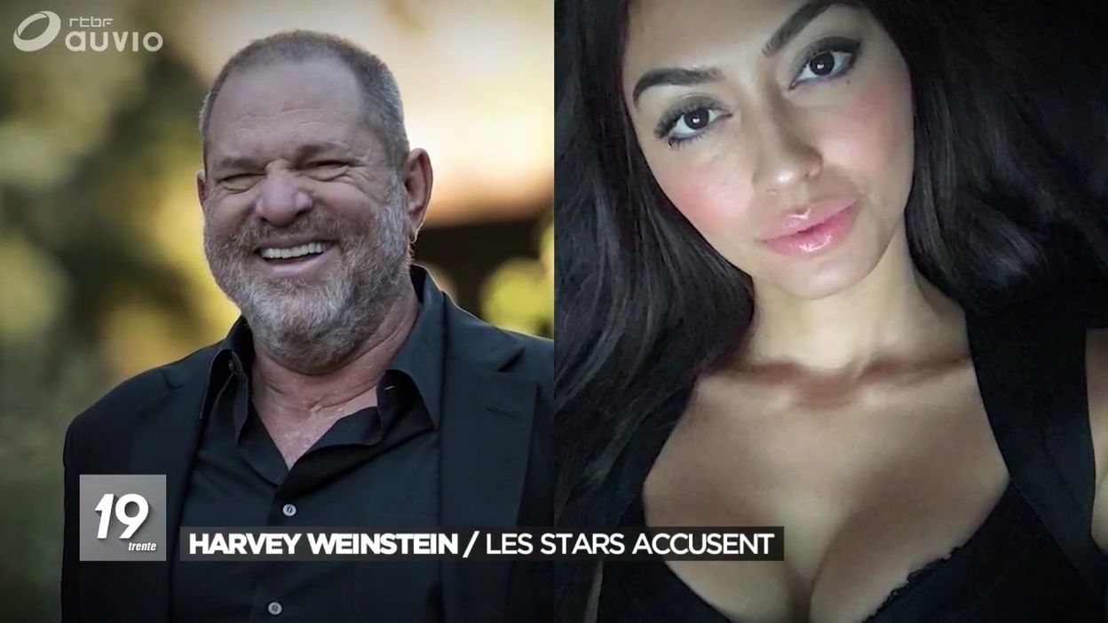 Les plaintes des stars contre le producteur Harvey Weinstein - JT 19h30 - 11/10/2017