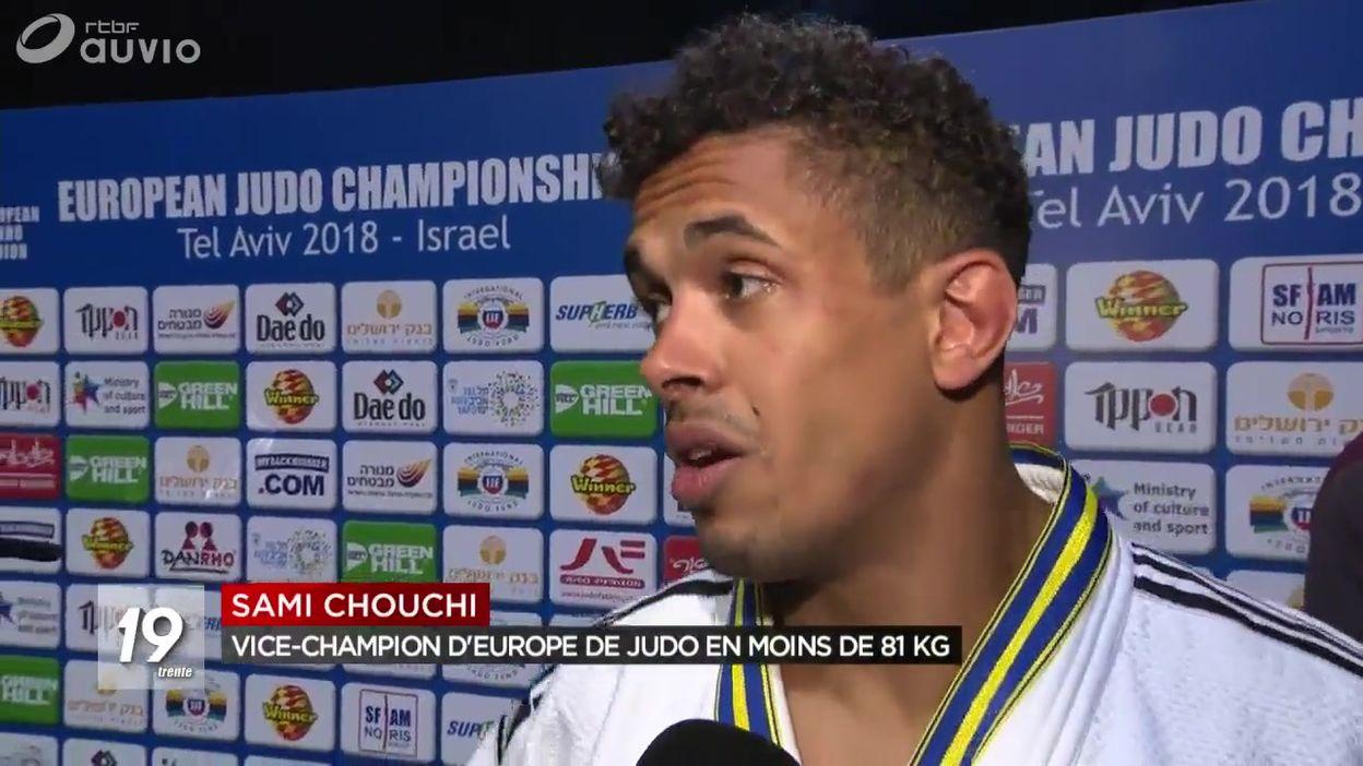Euro de judo : médaille d'argent pour Sami Chouchi