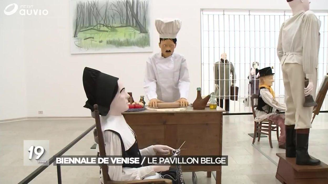 Ouverture du pavillon belge à la Biennale de Venise