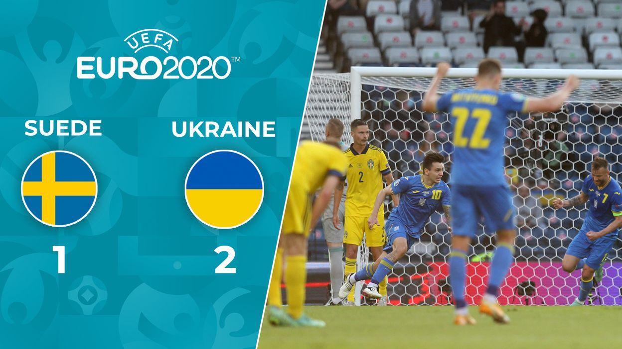 Suède - Ukraine : Le Résumé du Match
