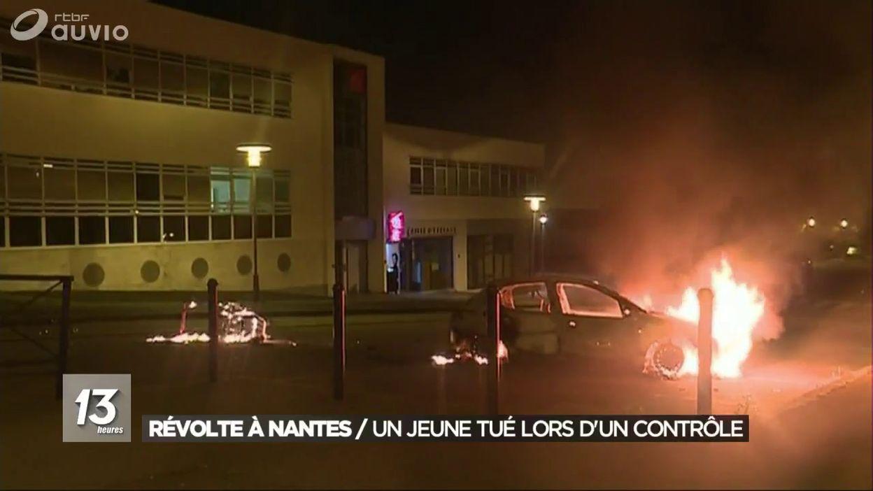 Révolte à Nantes : un jeune homme tué par la police