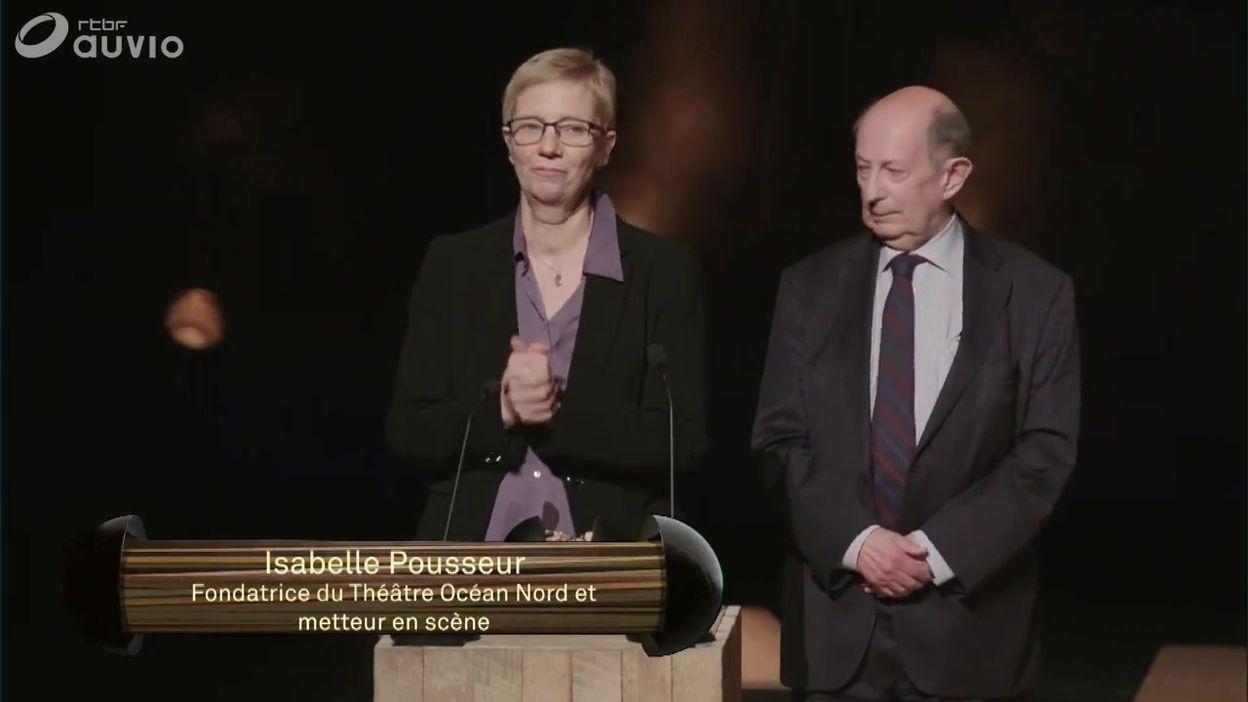 Isabelle Pousseur honorée du Prix Spécial Bernadette Abraté pour son rôle actif dans la culture
