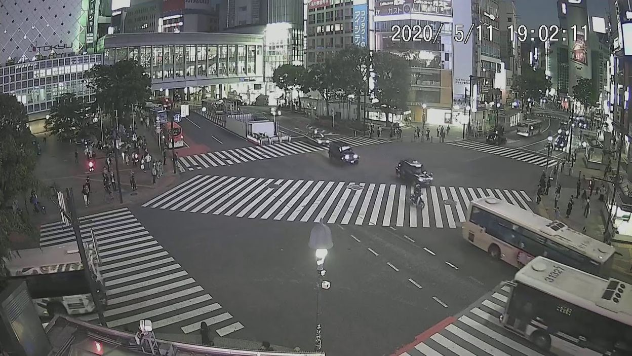 LIVE CAMERA】渋谷スクランブル交差点 ライブ映像 - Vidéos - VivreIci