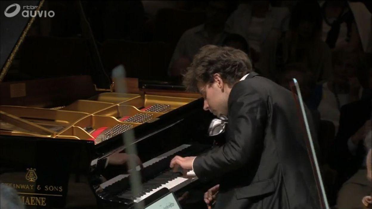 Queen Elisabeth 2016 - piano  - Aljoša Jurinić – Demi-finale – Concerto n.26 de Mozart
