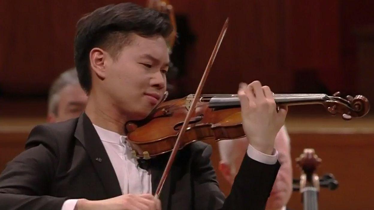 Queen Elisabeth - Timothy Chooi - Mozart, concerto n.5
