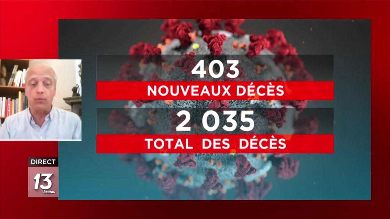 Docteur Yves Coppieters à propos du nombre de décès dans les maisons de repos