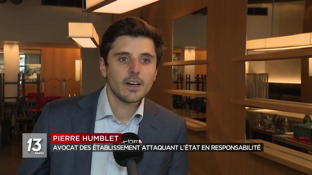 Horeca : des restaurants attaquent l'état fédéral