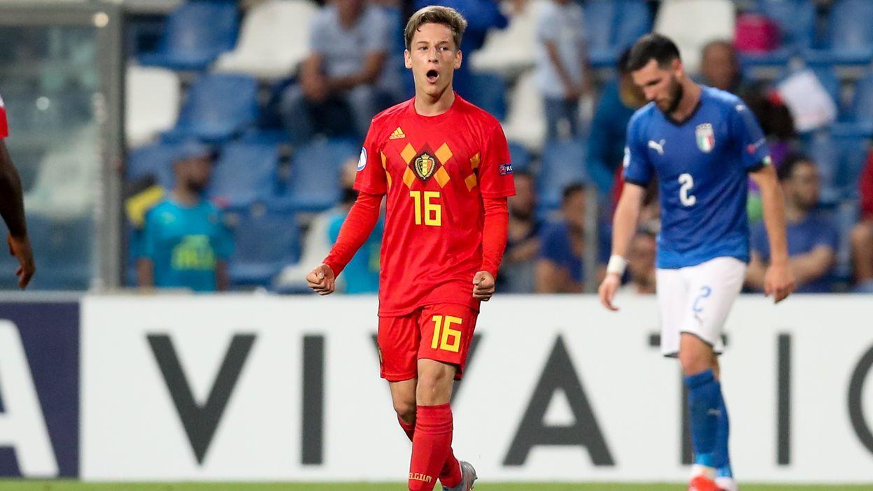 La superbe frappe de Yari Verschaeren contre l'Italie