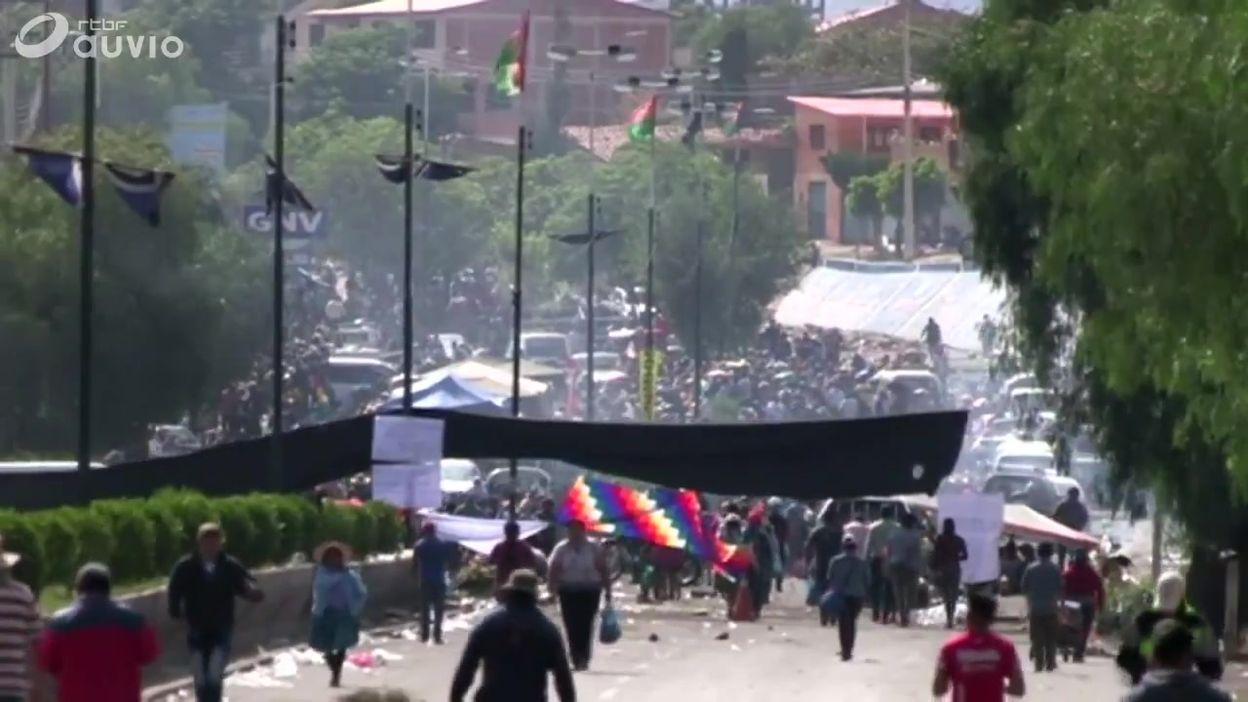 Bolivie: dégâts et contestation à Cochabamba (centre du pays), ce 17 novembre