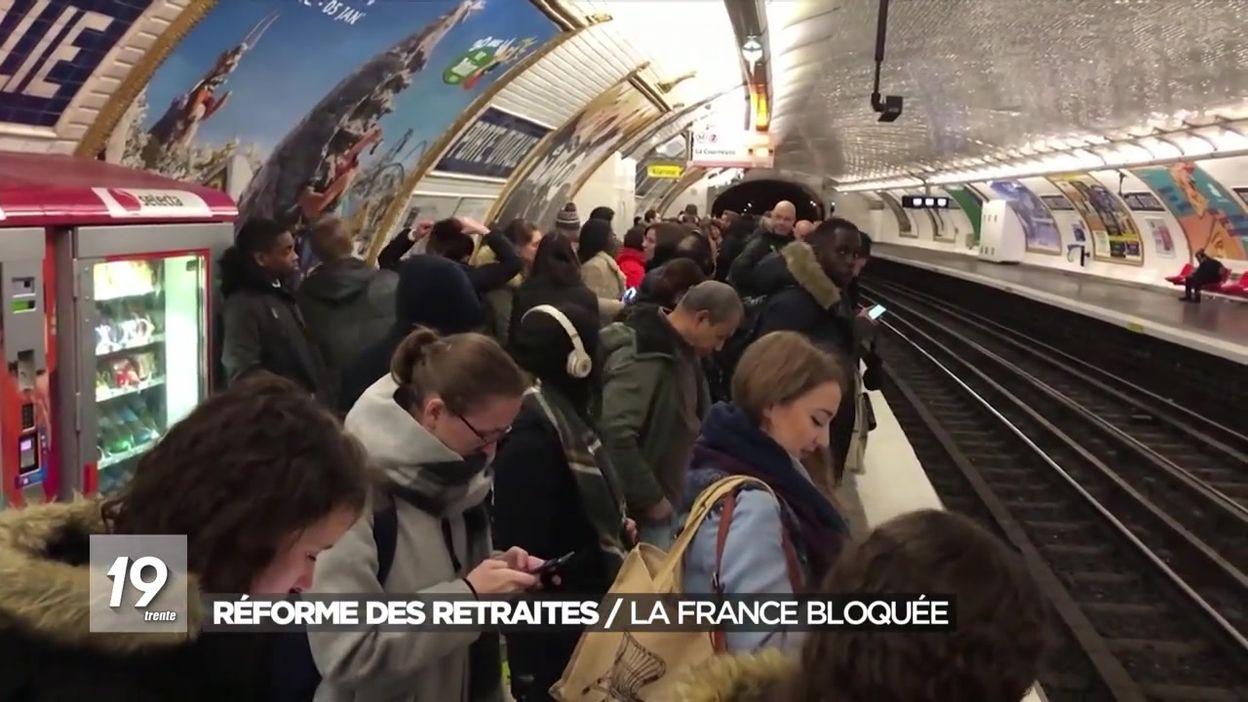 Réforme des retraites : la France toujours bloquée