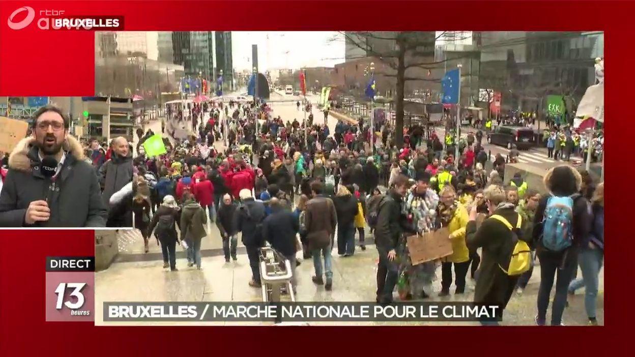 Bruxelles : marche nationale pour le climat
