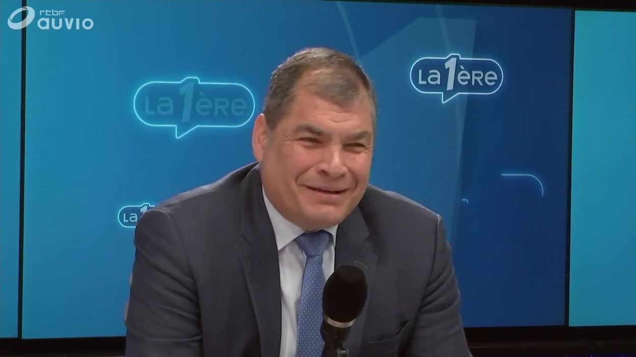 L'invité de Matin Première : Rafael Correa
