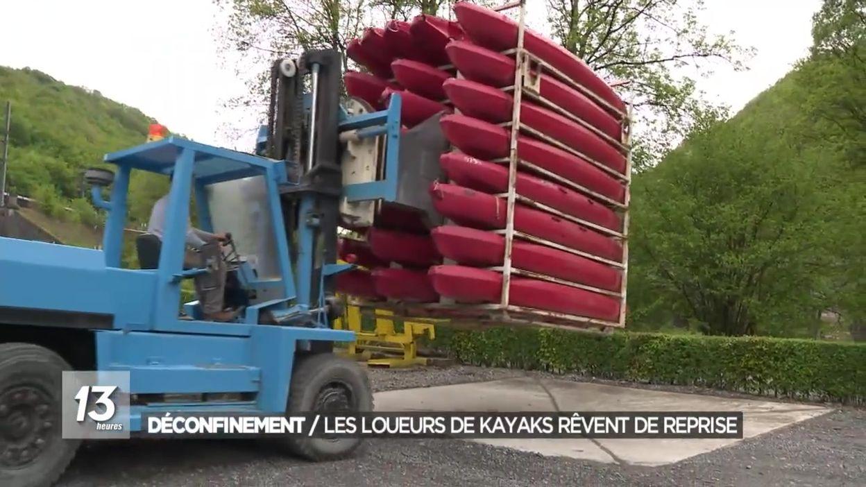 Déconfinement : les loueurs de kayaks rêvent de reprise