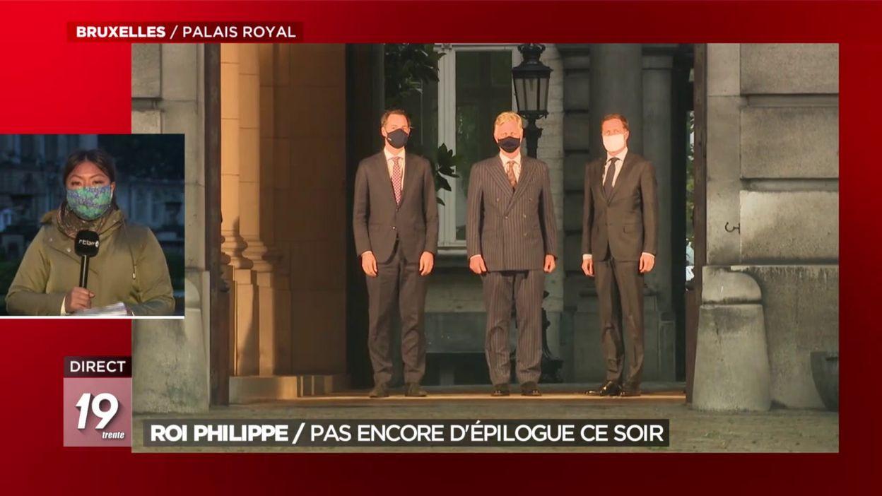 Formation gouvernementale: le Palais joue la prolongation