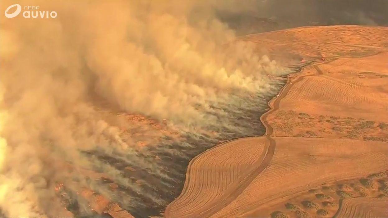 L'Oregon touché par d'importants incendies