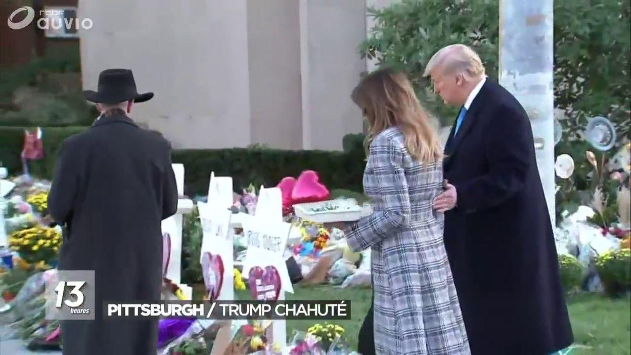 Donald Trump chahuté à Pittsburgh