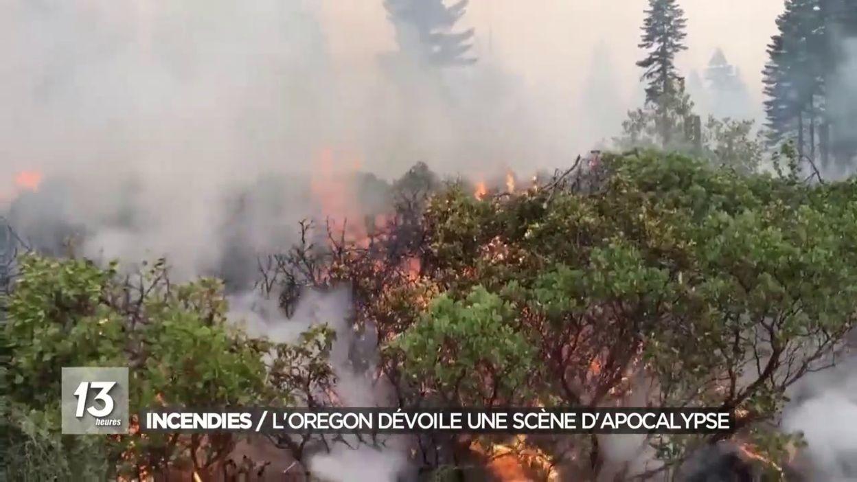 Incendies : L Oregon dévoile une scène d apocalypse