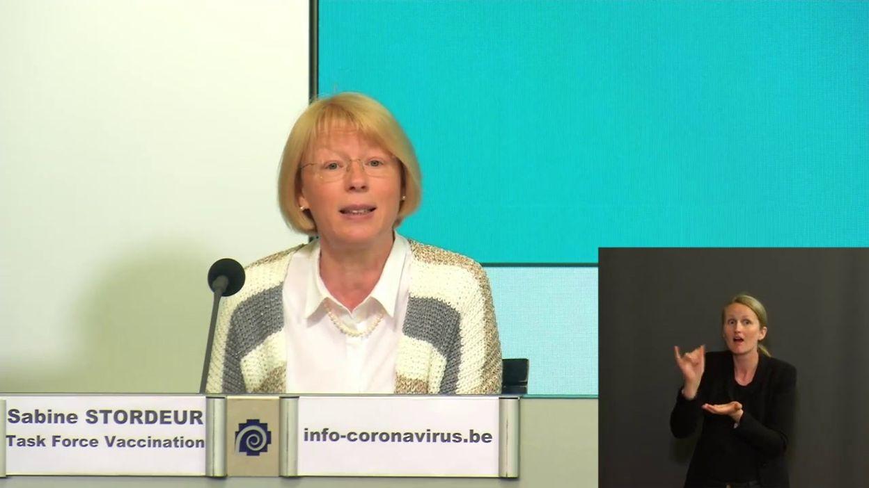 Point presse Covid-19 du 22 juin : de la bonne avancée (et des livraisons) de la vaccination (Sabine Stordeur)