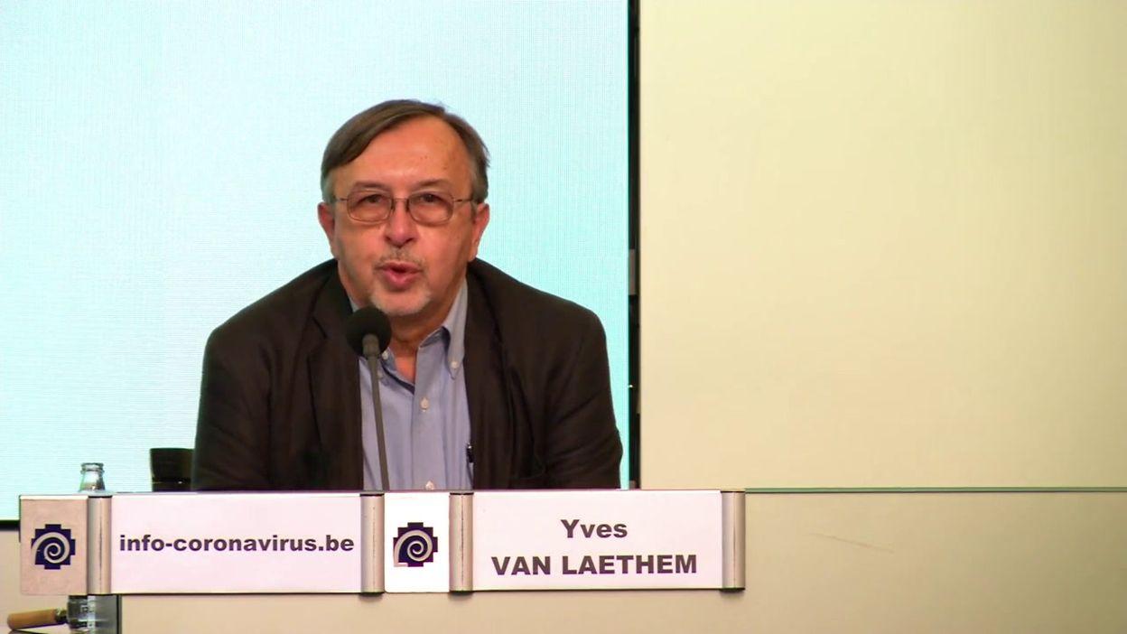 Point presse coronavirus 9/9: situation en région bruxelloise (Y. Van Laethem)