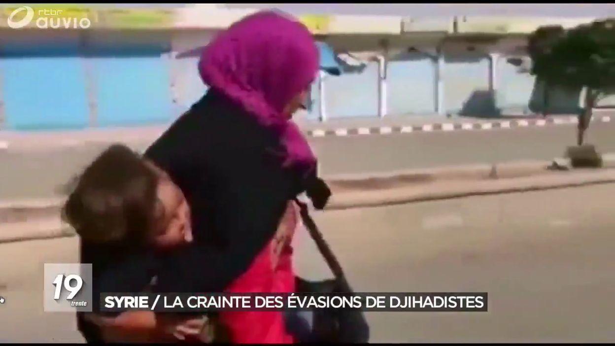 Syrie : des centaines de familles de l'EI s'échappent d'un camp