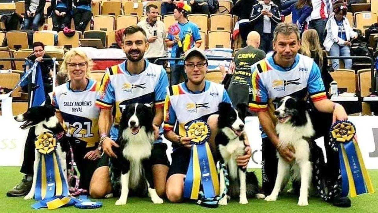 La Belgique championne du monde d'Agility par équipes