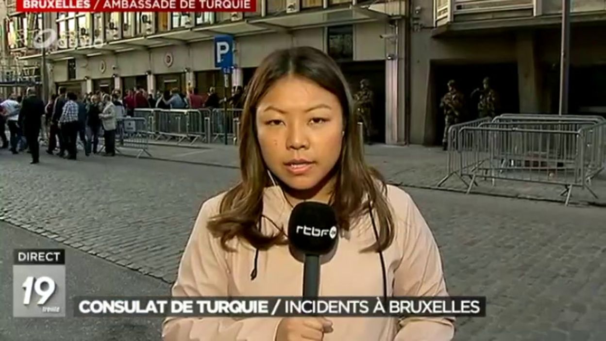 Consulat de Turquie: Incidents à Bruxelles