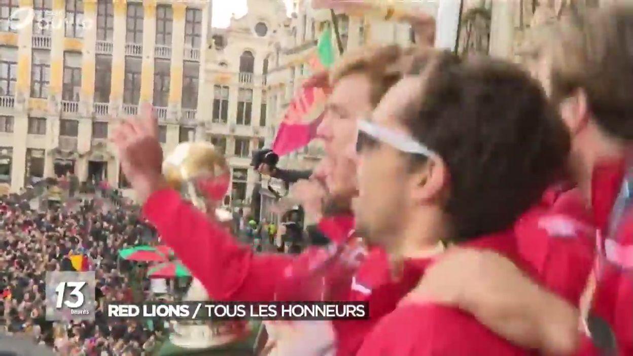 Red Lions : tous les honneurs sur la Grand-Place