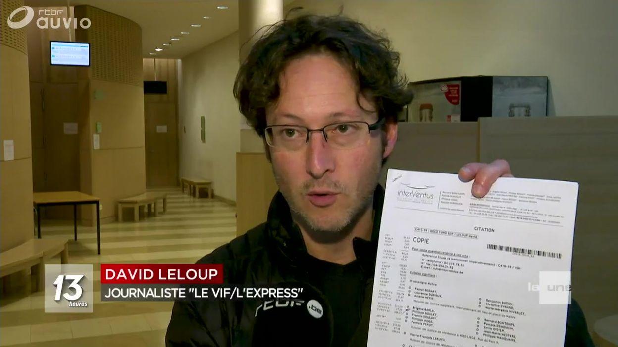 Des journalistes en justice : faux départ pour le procès