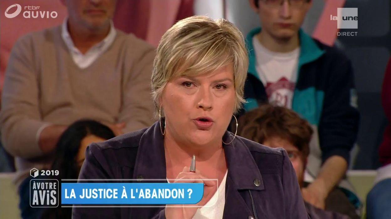 Vanessa Matz (cdH): 500 millions à la justice, ou rien
