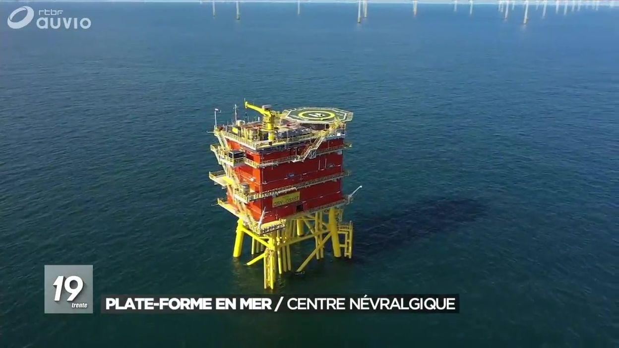 La vie sur une plateforme en Mer du Nord