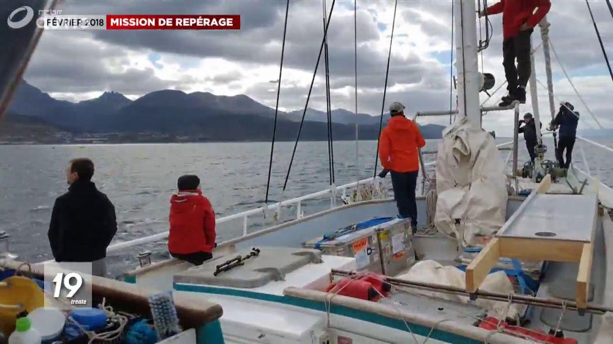 Mission scientifique de l'ULB sur le départ vers l'Antarctique