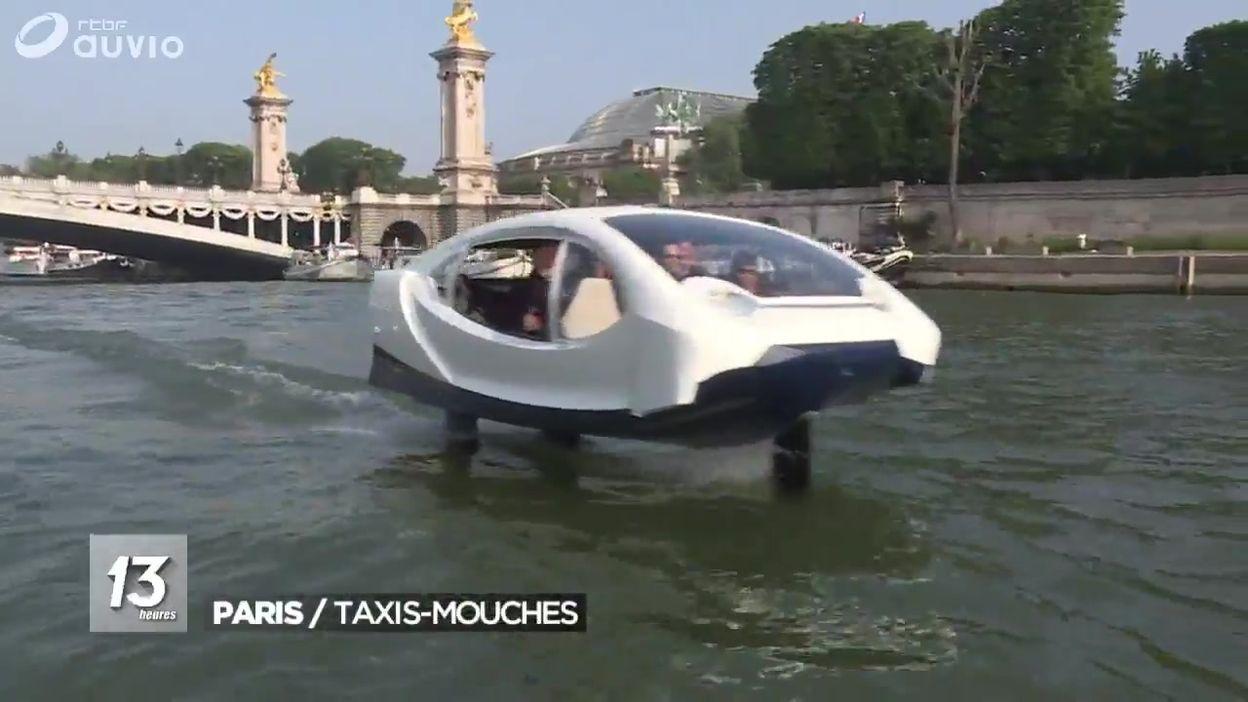 Les Sea bubbles: des taxis-mouches sur la Seine parisienne