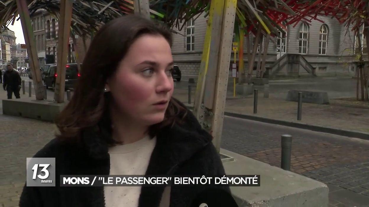 Mons : Le passenger d Arne Quinze bientôt démonté
