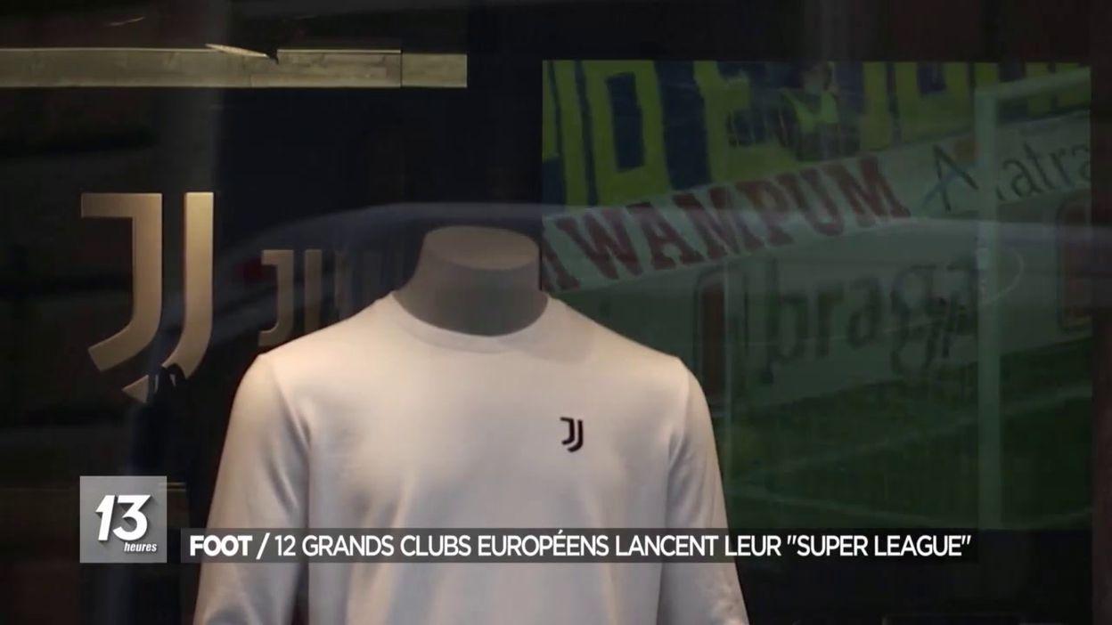 Foot / 12 grands clubs européens lancent leur Super League
