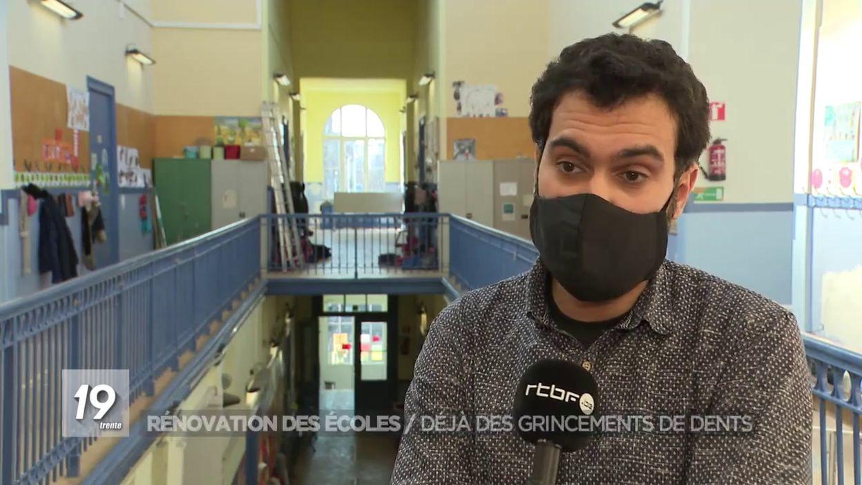 Rénovation des écoles : Déjà des grincements de dents
