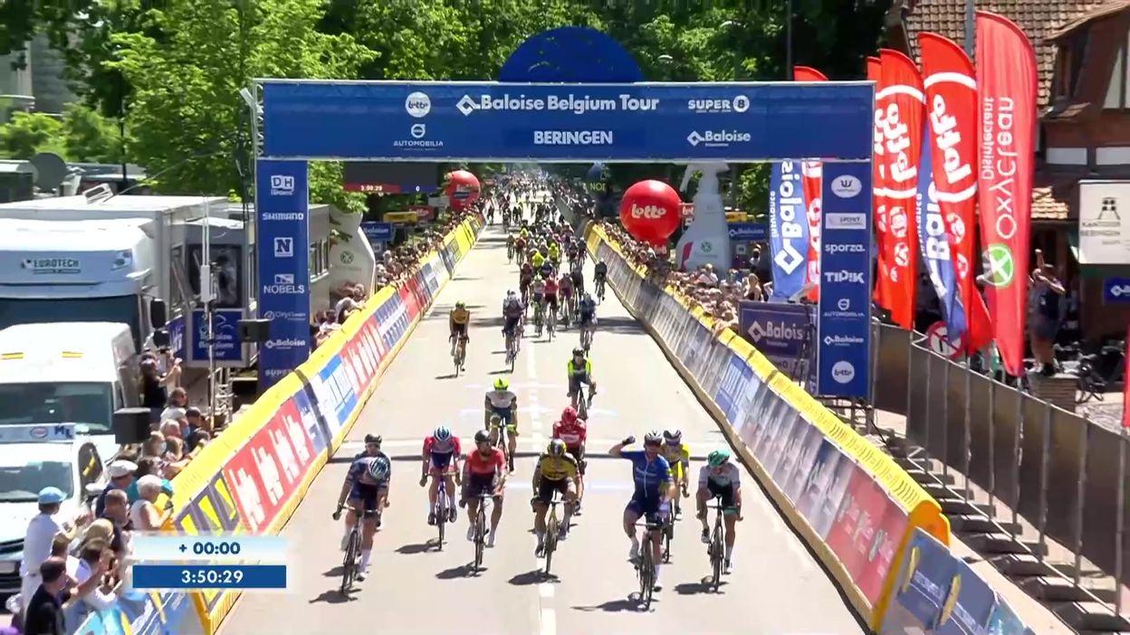 Tour de Belgique: Mark Cavendish lève les bras sur la dernière étape, Evenepoel remporte le classement général