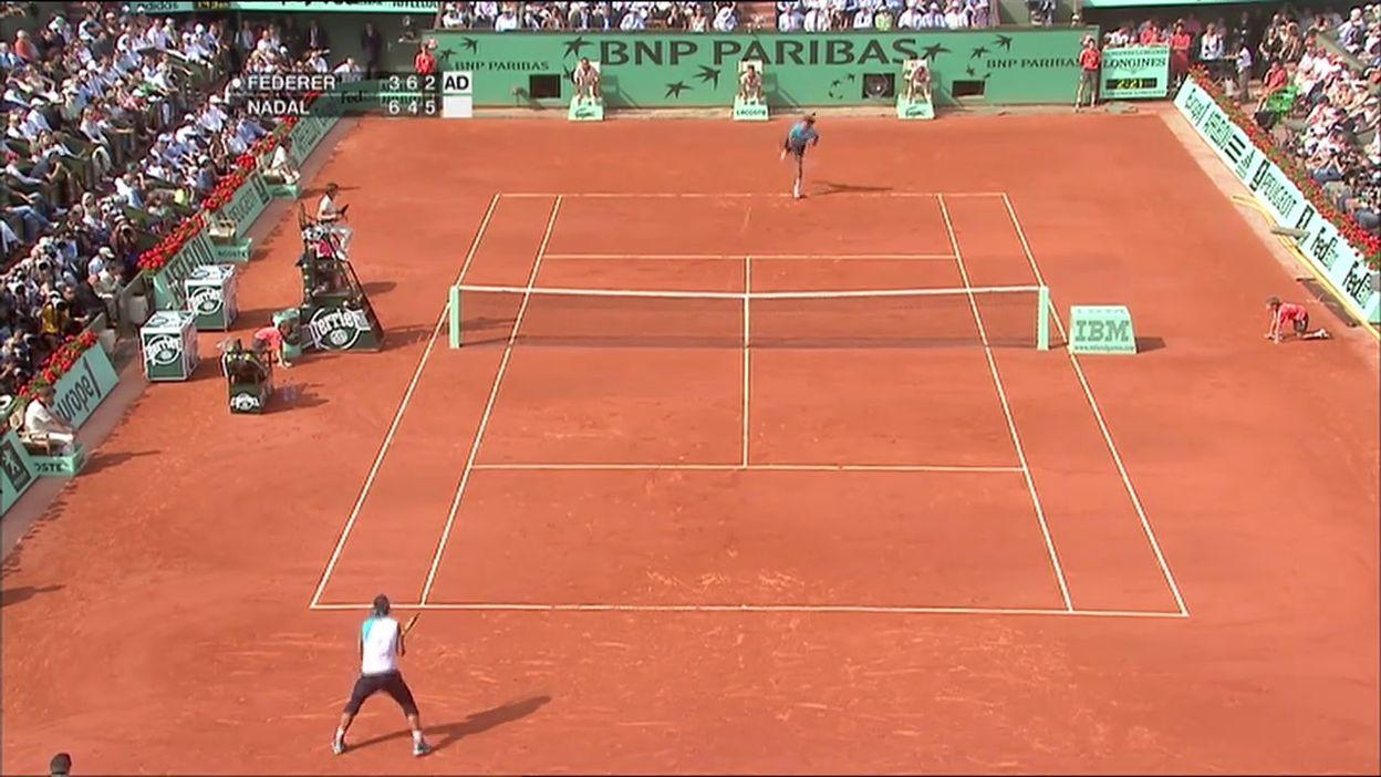 Finale 2007 : Rafael Nadal - Roger Federer (Partie 2)