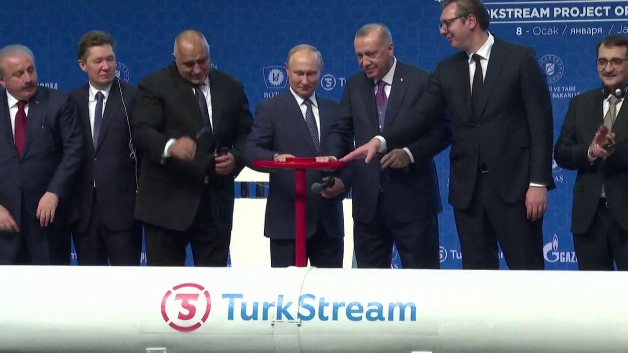 Turquie: Inauguration du gazoduc