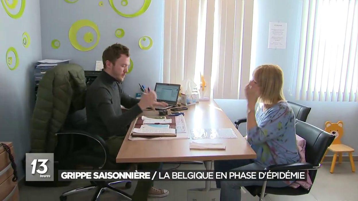 Grippe saisonnière : la Belgique en phase d épidémie