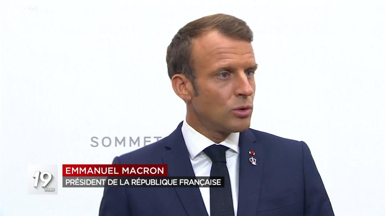 Le G7 dans le vif du sujet tandis qu'un ministre iranien débarque à Biarritz