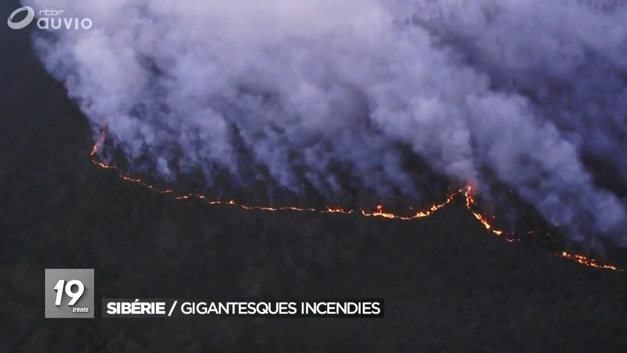 Sibérie : gigantesques incendies