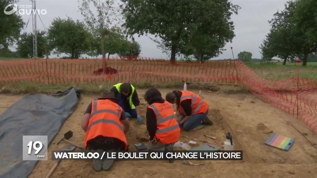 Fouilles archéologiques à Waterloo