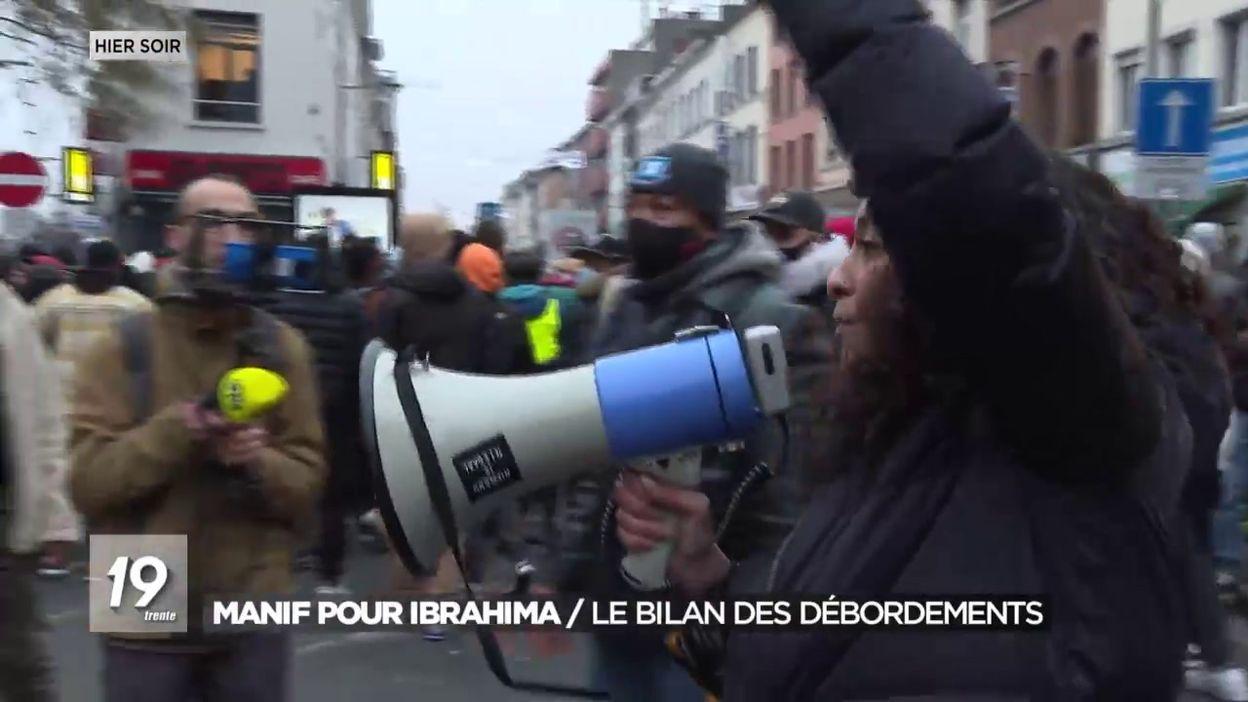 Manifestation pour Ibrahima : Le bilan des débordements
