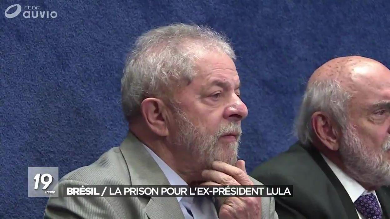 Brésil : incarcération ordonnée de Lula