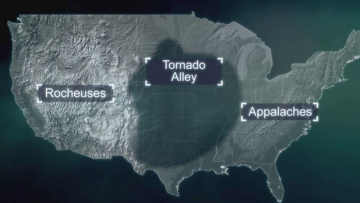 Pourquoi les tornades sont-elles plus courantes aux États-Unis ?